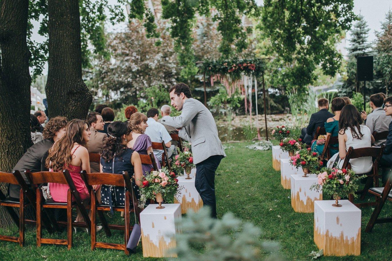 Свадебный организатор - подготовка к выездной церемоние